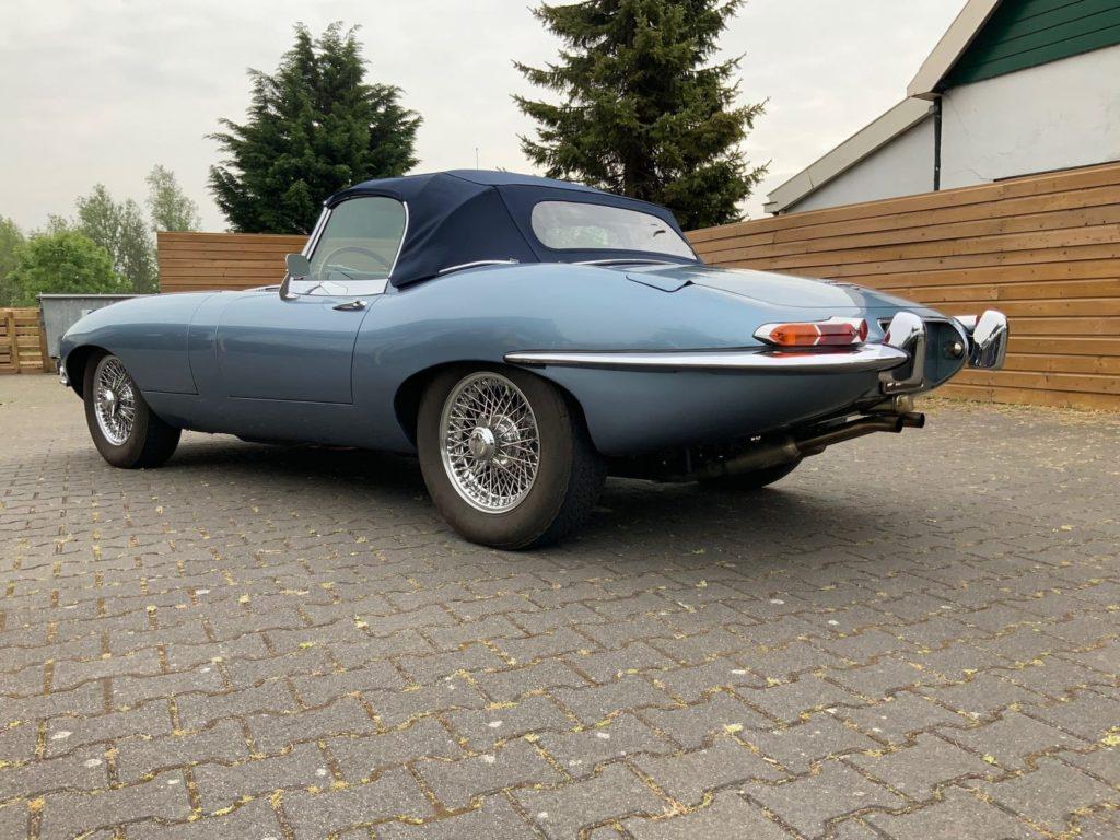 Jaguar E Type Taxatie Rapport - Dagwaarde Jaguar E Type
