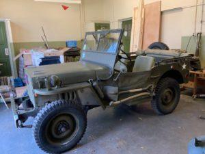Nekaf Jeep Oldtimer Taxatie Waarde