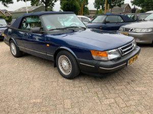 Oldtimer Saab 900 Cabrio Waarde Taxatie Saab