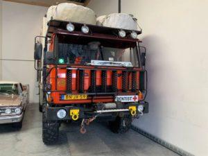 Rally Vrachtwagen Taxatie Verzekering Omgebouwd Tandartswagen